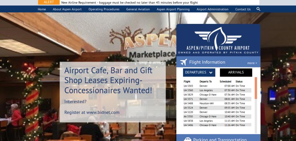 aspen-airport-booking-platform