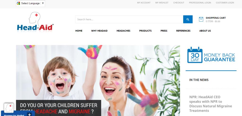 head-aid-websites