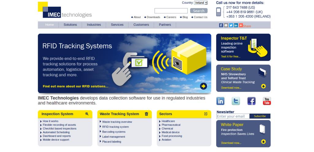 imec-technologies-website
