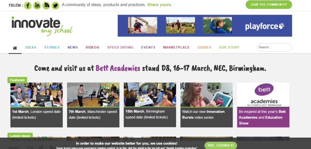 education-school-website